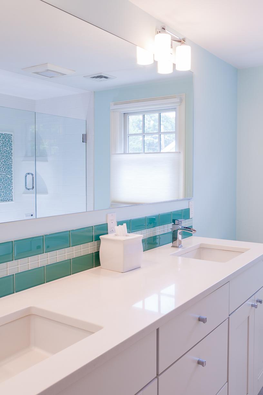 93 Wilshire, Needham master bath