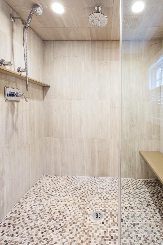 93 Wilshire, Needham master shower