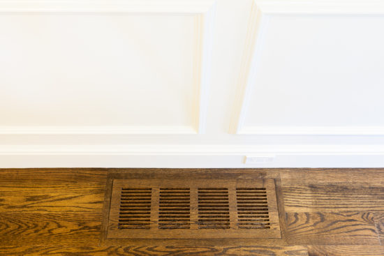 details wood floor vent