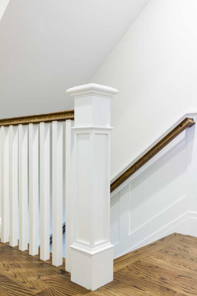 detail of banister